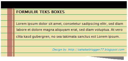 Teks Box