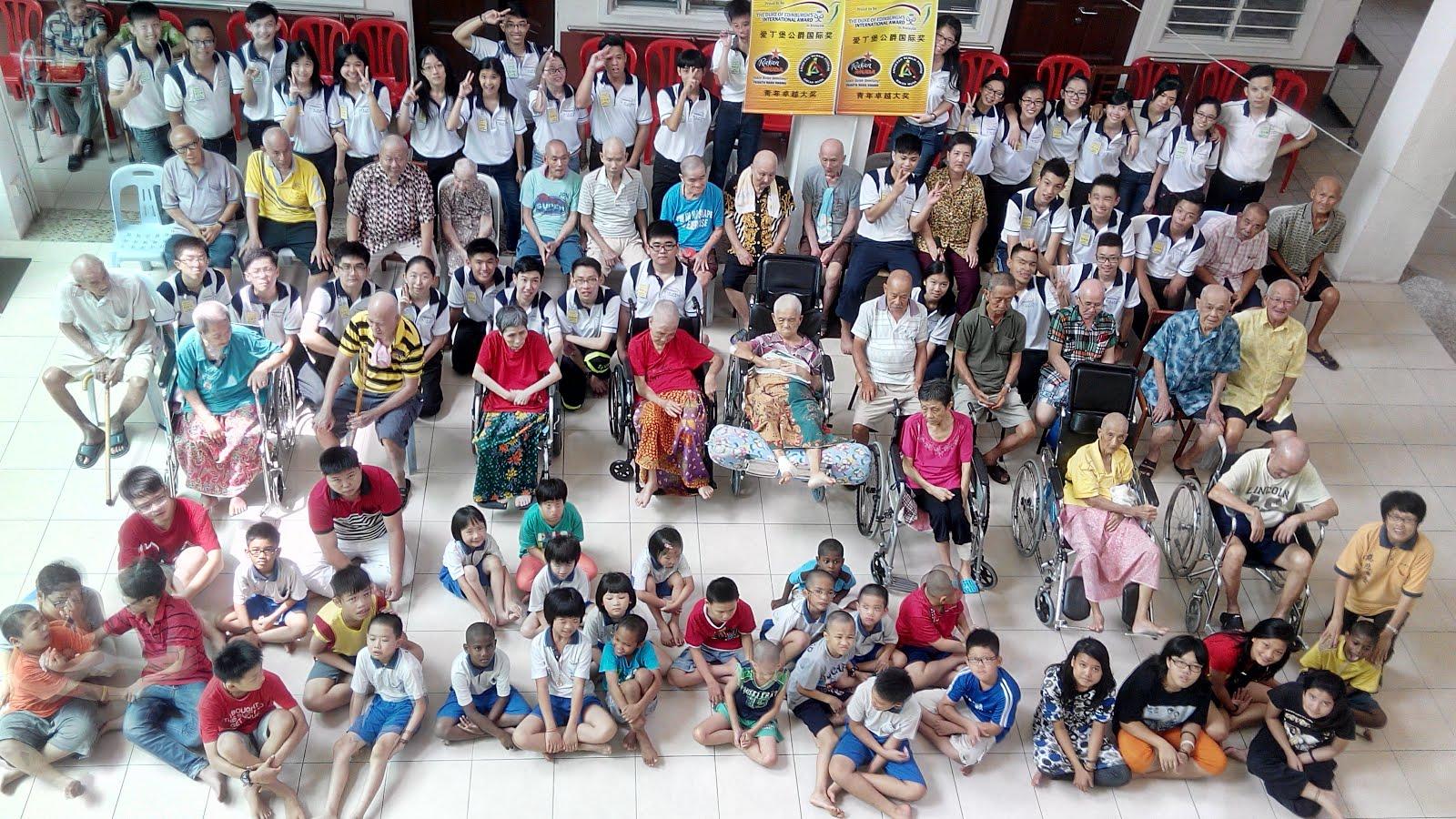卓越青年社区服务-安宁老人院 9月/2015