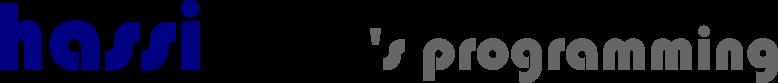hassiweb's programming