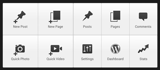 wordpress-android-landscape-interface