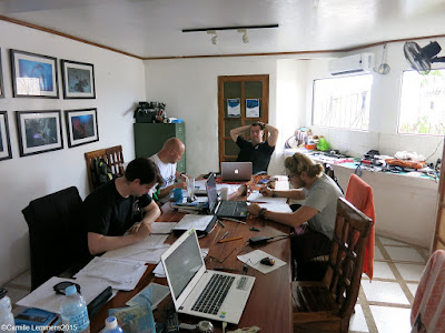 PADI IDC for November 2015 in Moalboal, Philippines has started