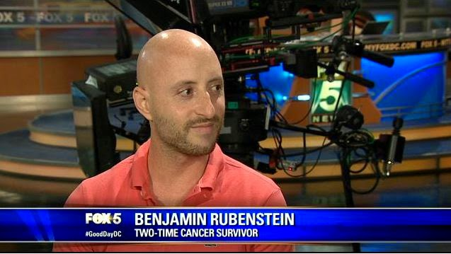"Cancer survivor Benjamin Rubenstein interviews on FOX 5 DC's ""Good Day DC"" about First Descents"