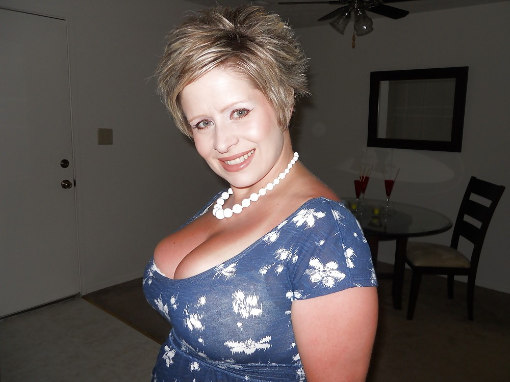 Grandma shows tits boobs