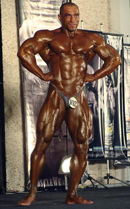 Edilson Oliveira Hot Brazillian Male Bodybuilder