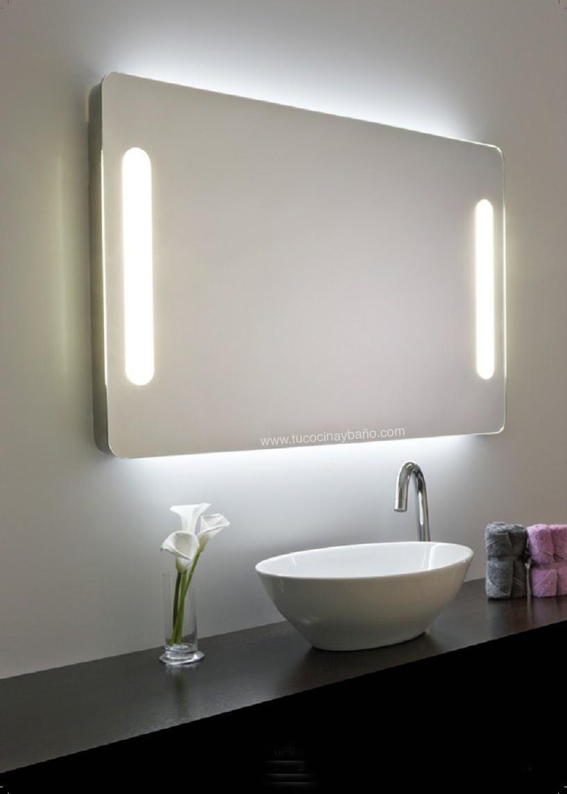 espejo baño iluminación luz interruptor PL-L T5