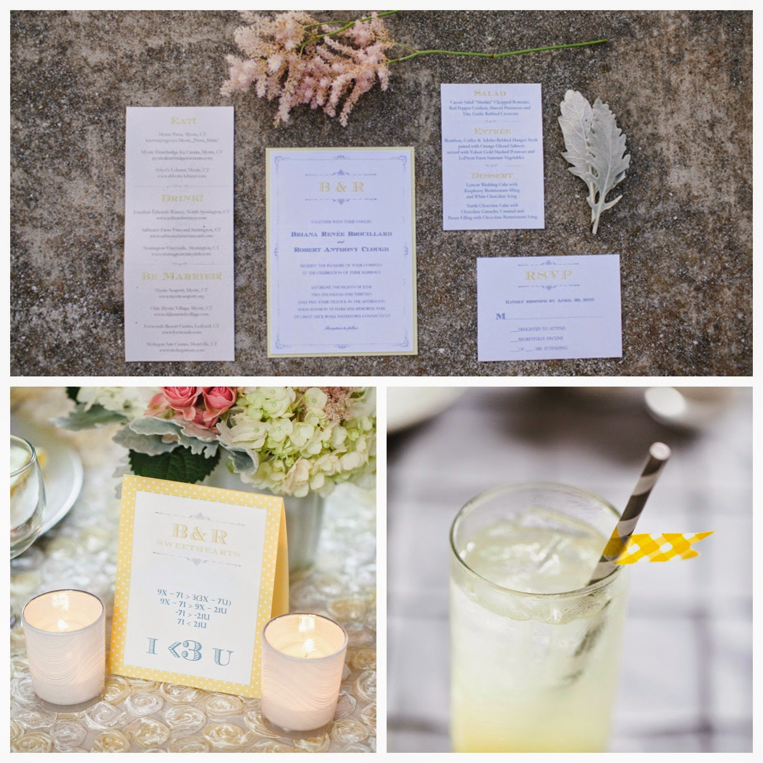 CT wedding planner, yellow and grey wedding, CT wedding, Eolia Mansion, 5th Avenue Weddings, NY wedding planner