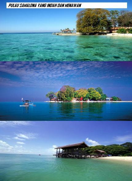 Pulau samalona di makassar, indah, pulau samalona cantik, pulau samalona di kepulauan spermonde, jom bercuti ke sini, destinasi percutian melastik bintang