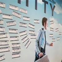 El muro de los sueños de Walter Mitty se llena de deseos variopintos.