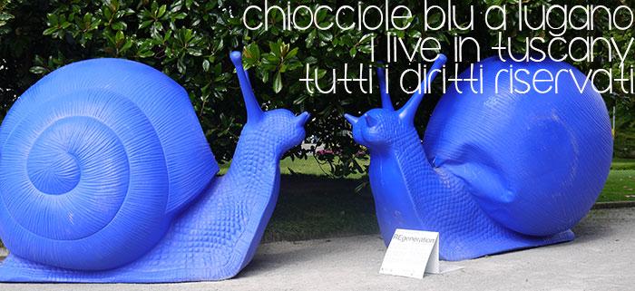 Chiocciole blu a Lugano dopo Milano, REgeneration