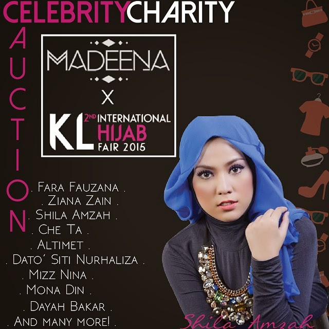 Celebrity Celebrity Auction Shila Amzah