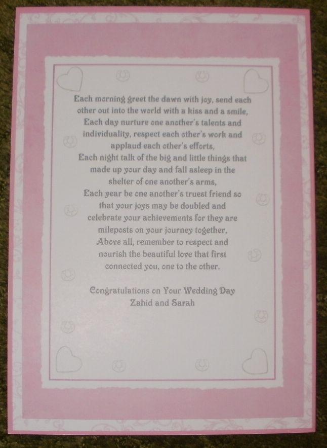 Free Wedding Card Verses