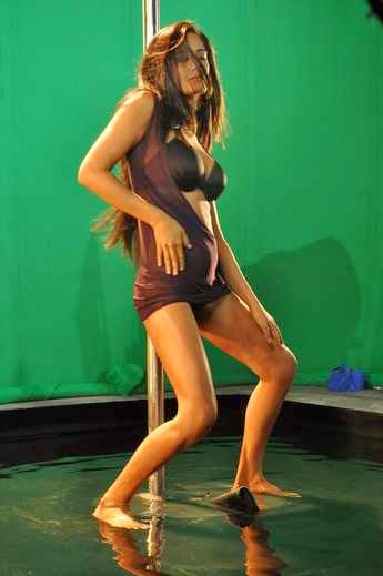 Poonam pandey Hot Pole Dance HD Wallpaper