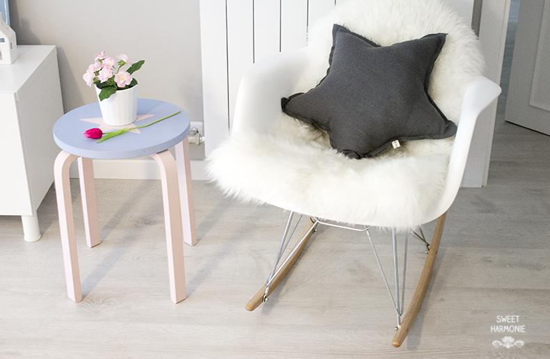 """Sweet Harmonie: DIY TABURETE """"FROSTA"""" DE IKEA"""