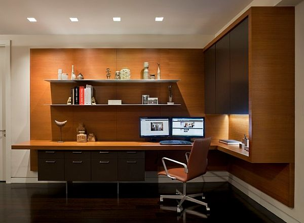 60 - Modern home office floor plans for a comfortable home office ...