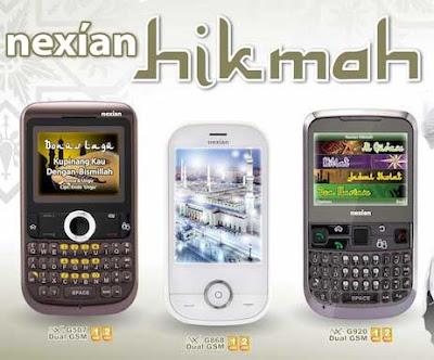 Nexian Hikmah G868 Harga Spesifikasi