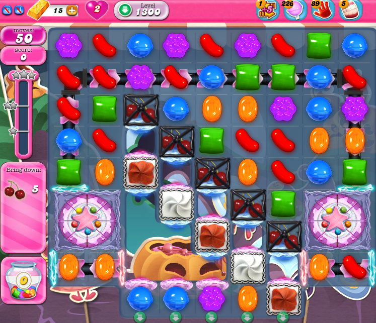 Candy Crush Saga 1300