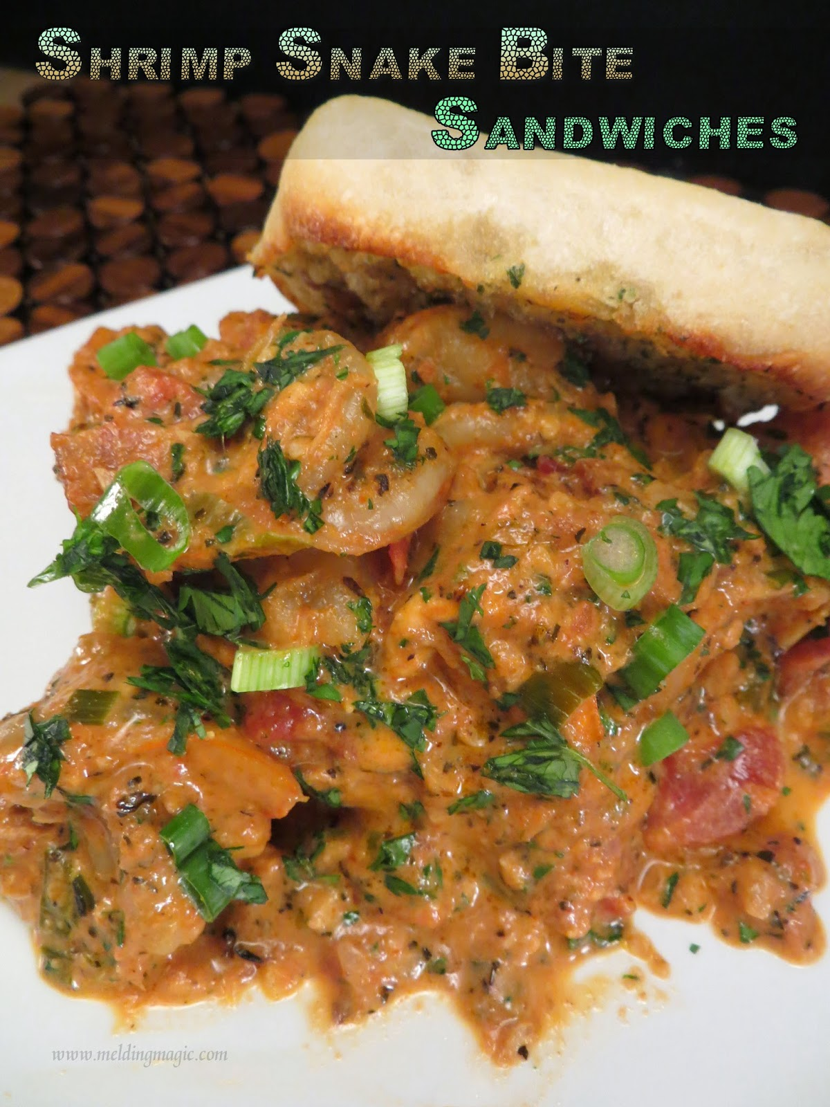 Spicy Shrimp Sandwiches