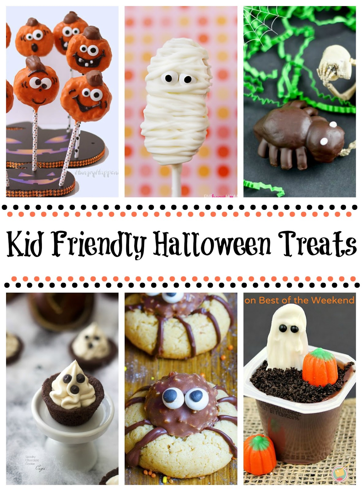 Best of the weekend and kid halloween treats cooking on for Easy kid friendly halloween treats