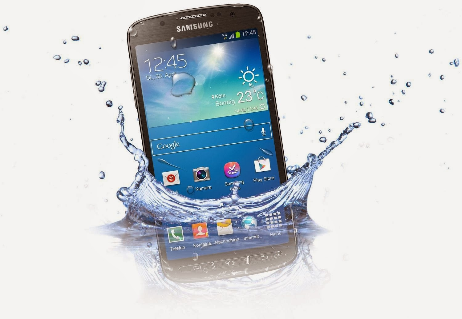 Rumor - Samsung Galaxy S5 will be water-resistant