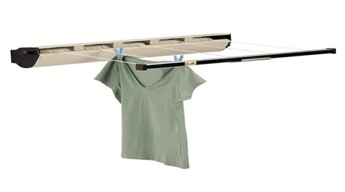 Whitney Design 5 Line Retractable Clothesline   Extends To 170 Feet