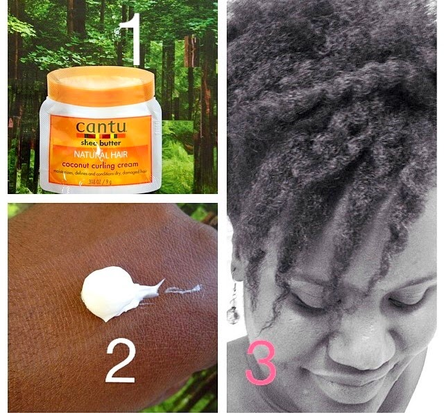 Cantu Shea Butter Coconut Curling Cream For Natural Hair REVIEW