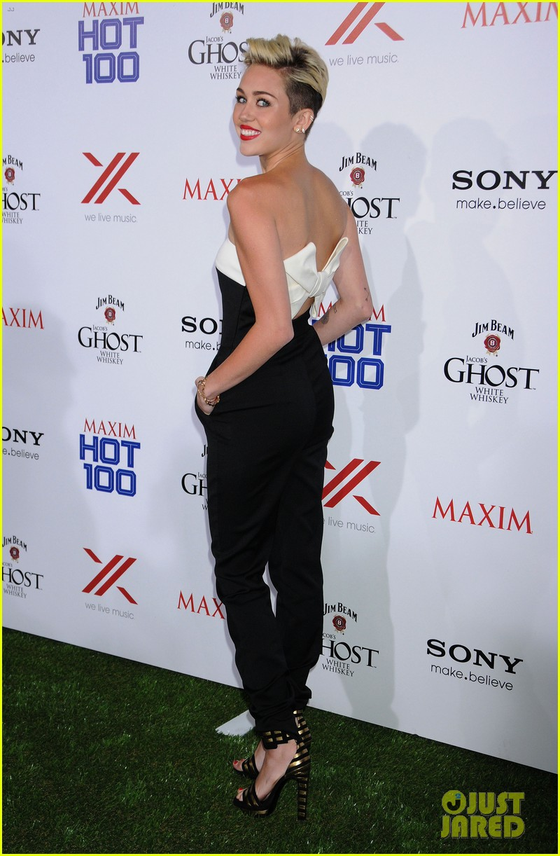 And Miley cyrus maxim with