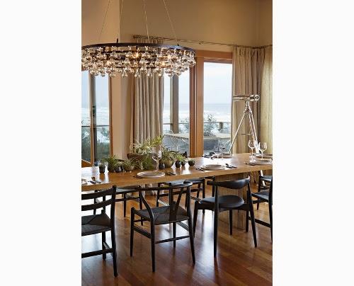 oregon coast house dining room