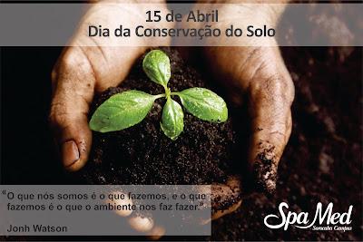 15 de Abril Dia da Conservação do Solo