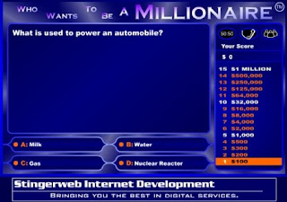 Who Wants to be a Millionaire Online