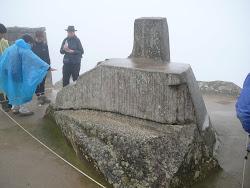 "Intiwatana, ""Sundial Stone,"" Astrological Observatory, Machu Picchu"