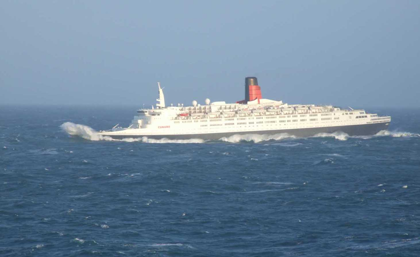 The Legendary Ocean Liner Qe2 To Be Transformed Into 300