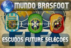 Escudos Future Seleções - Brasfoot 2011