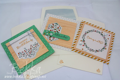 Cottage Greetings Card Kit by Stampin' Up! UK - get it here