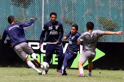 Jugadores Convocados de Ecuador para el Sudamericano Sub-20