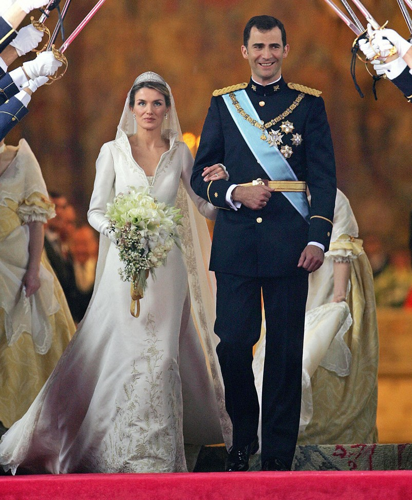 HRH The Prince of Asturias and Letizia Ortiz Rocasolano
