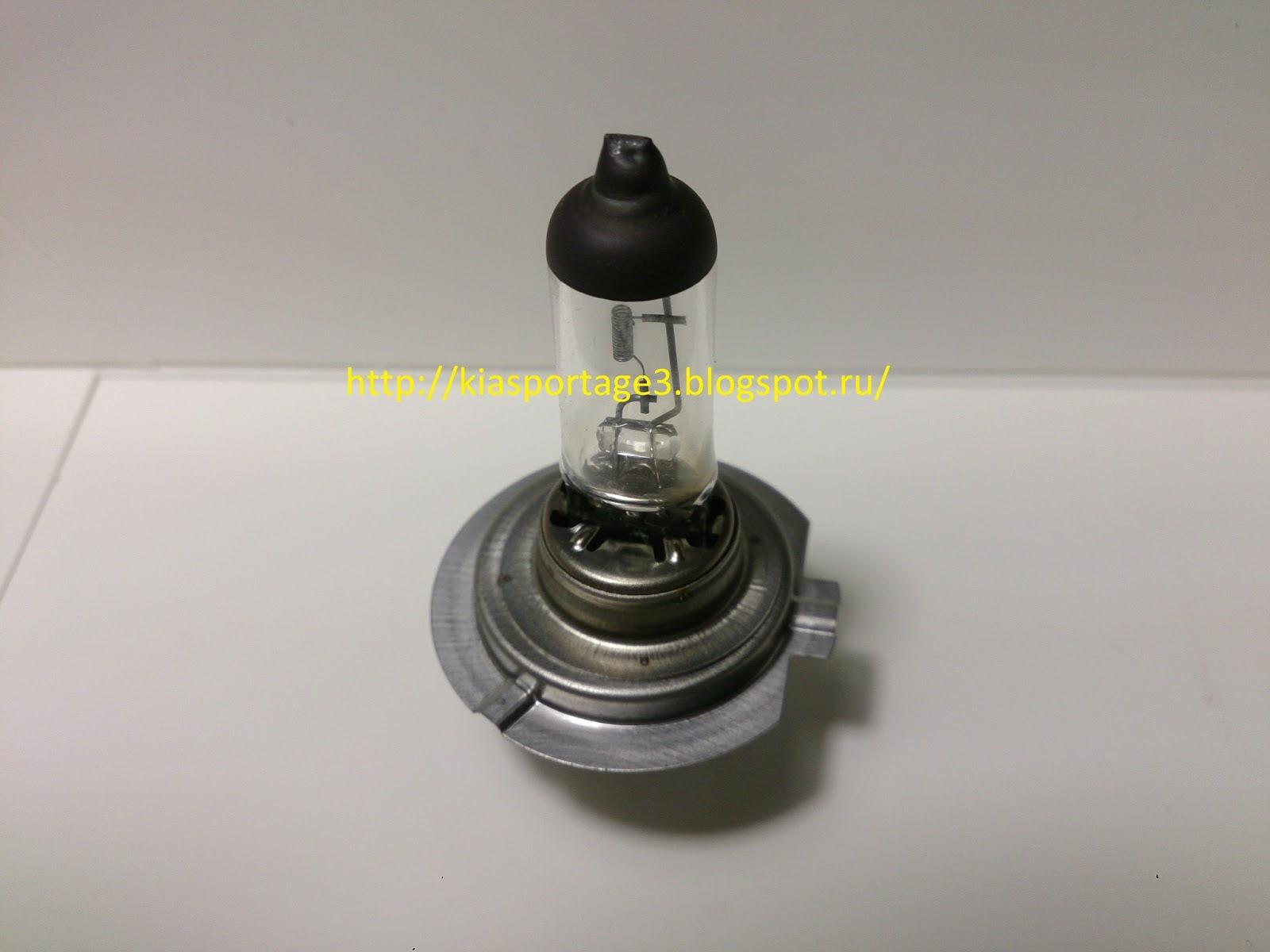 замена лампы ближнего света киа спортейдж 3 фото