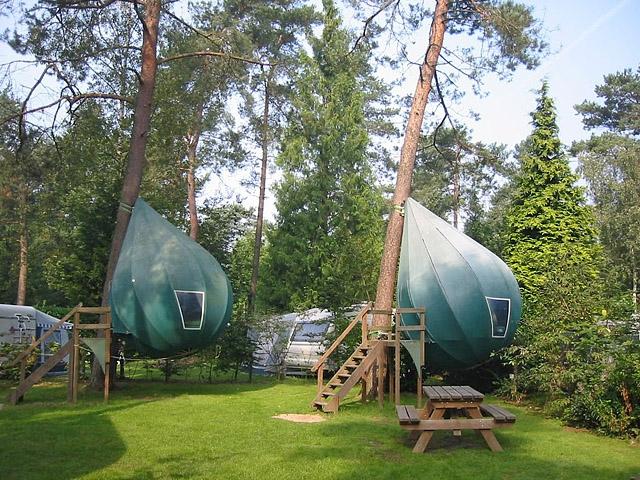 палатка на дереве