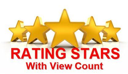 Cara Membuat Rating Stars Dengan View Count Dari Graddit