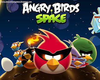 Angry birds space key
