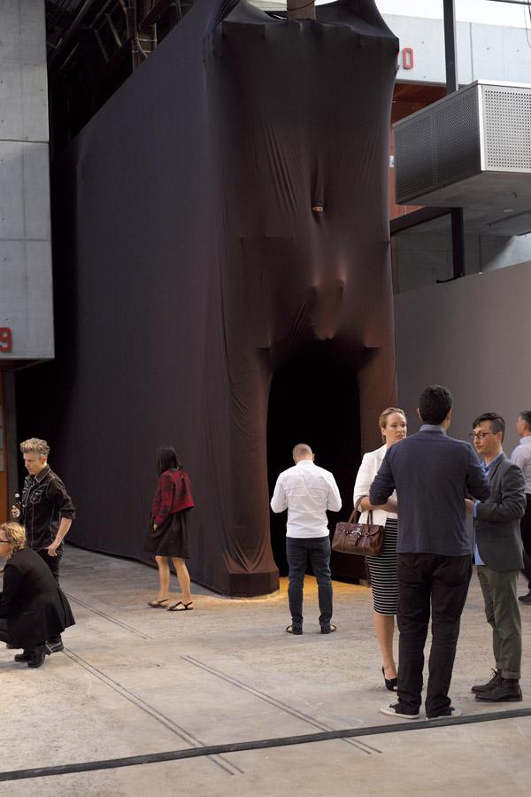 Cigdem Aydemir, Burka installation, Sexes, Performance Space - 245 Wilson St Eveleigh, Sydney