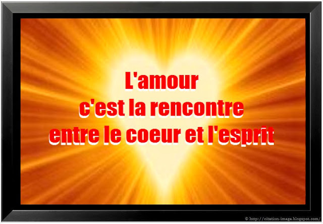Citation d'amour en image