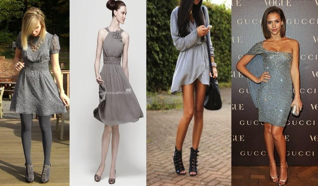 Como combinar tus zapatos con tu vestido for Colores para combinar con gris