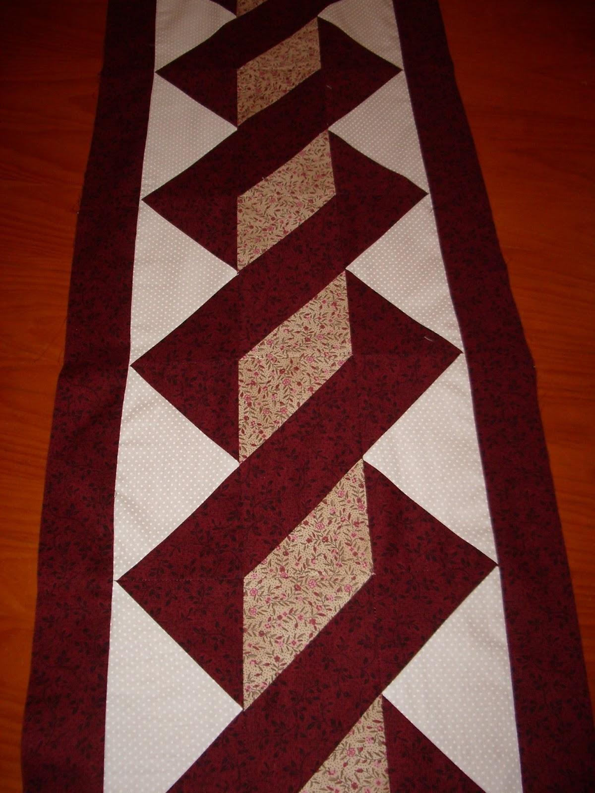 El costurero de chus camino de mesa - Camino mesa patchwork ...