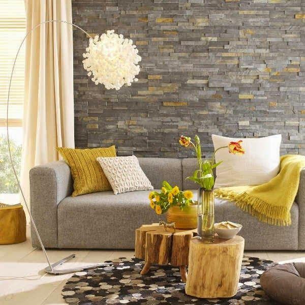 decoración de interiores salas rusticas:Small Living Room Decorating Ideas