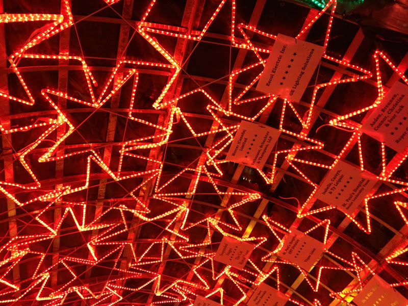 Lights of Hope Star Tunnel