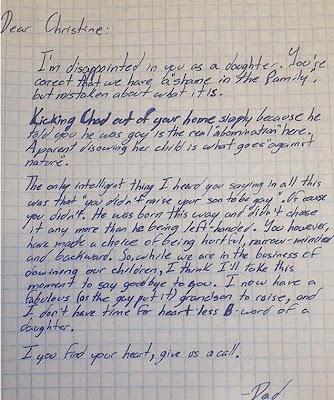 Avô acolhe neto expulso de casa por ser gay e manda carta emocionante à mãe