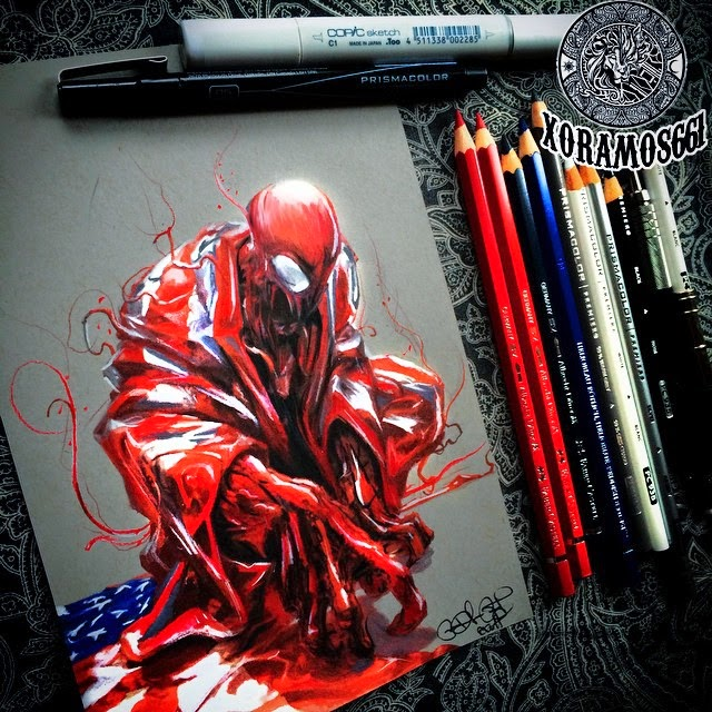 18-Carnage-Ramos-Ruben-xoramos661-Photo-Real-Comic-Book-Coloured-Drawings-www-designstack-co
