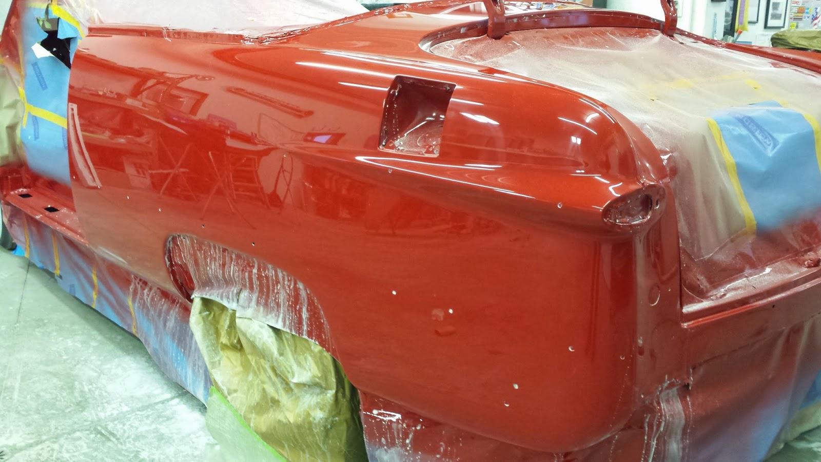 gloss paint shoebox ford