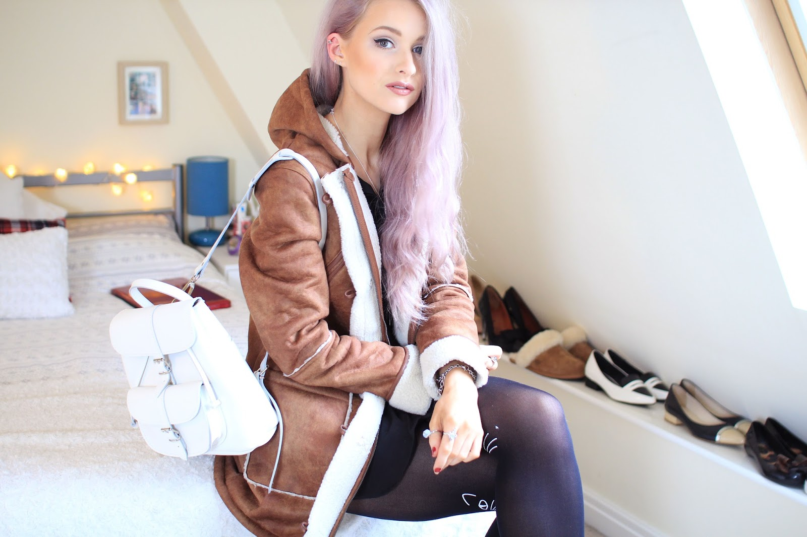 Bellfield Sheepskin jacket