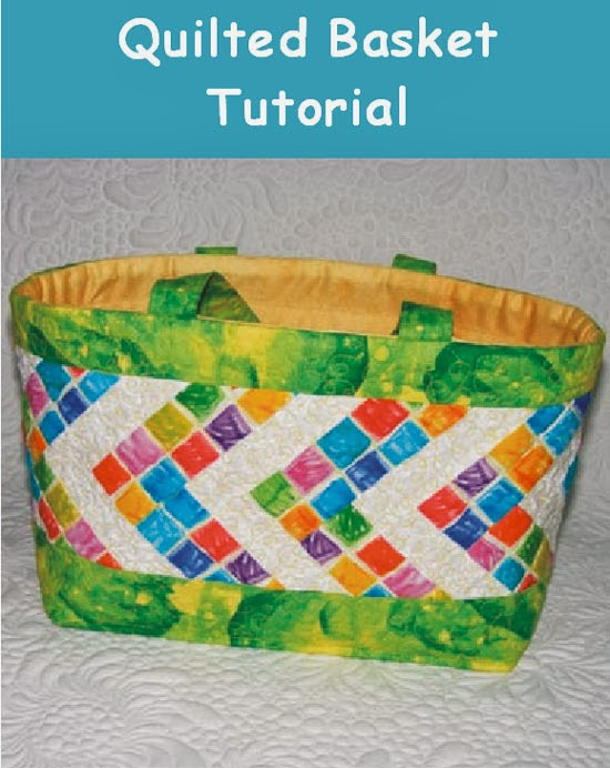 Quilted Basket Tutorial